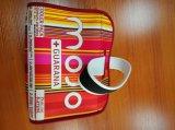 Sac d'emballage coloré de déjeuner du néoprène de qualité avec la courroie d'épaule