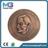 Médaille personnalisée de Taekwondo 3D en métal avec le cuivre antique terminé