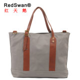 Red Swan Women Canvas Handbag Casual Shopping Totes (RS-2096)