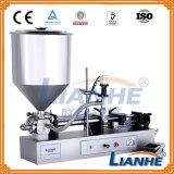 Flüssige Seifen-Füllmaschine-Teller-Wäsche-Gel-Flaschen-Füllmaschine-mit einer Kappe bedeckende Maschine