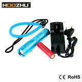 Hoozhu U10 크리 사람 LED 잠수 빛은 80m를 방수 처리한다