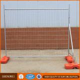 Heißer eingetauchter galvanisierter Stahl, der Aufbau-temporären Zaun einzäunt