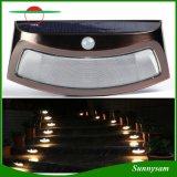 L'énergie solaire Eclairage extérieur étanche 8 LED du capteur de mouvement IRP mur de sécurité l'étape/ la lumière de l'escalier