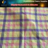 Tessuto dell'assegno tinto filato di nylon per Shirting