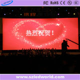 Indoor Rental Full Color LED Wall Video P6 para Publicidade