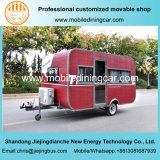 赤いJiejingはキャラバンに移動のための移動式トレーラーをした
