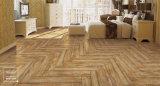 インクジェット印刷の木製デザイン安い床タイル