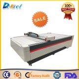Máquina Flatbed de oscilação para o cartão, de cartão ondulado, caixa do plotador da estaca da faca do melhor preço da caixa