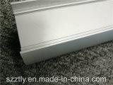 De douane 6000 Reeksen zandstraalde Geanodiseerd LEIDEN van de Uitdrijving van het Aluminium Profiel