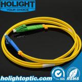 Kabel Lca van het Flard van de vezel de Optische aan LC Duplex 3.0mm