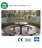WPC ninguna silla/banco al aire libre de la descomposición