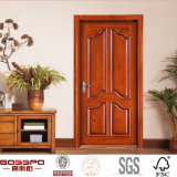 새기기를 가진 새로운 디자인 마호가니 목제 안쪽 문 (GSP2-043)