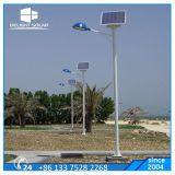 Stand Alone octogonal pôle noir/gris, feu de route de plein air solaire LED