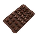 Сертификат FDA Food Grade силиконового материала, утка пресс-формы /Мало иметь форму/ Кролик форма силиконового герметика пудинг Mold /шоколад пресс-формы