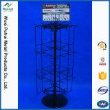 Metalldraht-drehender Haken-entgegengesetzt Ausstellungsstand für das Hängen (PHY1009)