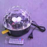 6X1w LED Effet de scène Light Mirror Disco Ball