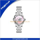Montre-bracelet de femmes de diamant de mode de con de pendules