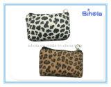 Leopard-kleiner Münzen-Beutel, weicher PU-lederner Beutel