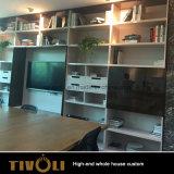 Hölzerne Möbel-moderner Entwurfs-kundenspezifische vollständige Haus-Lösungs-Luxuxschreinerei Tivo-007VW