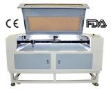 O dobro da eficiência elevada dirige o cortador do laser para o couro 80With100W