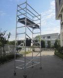 安全なセリウムは使用されたアルミニウム足場を渡した