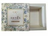 Fantastischer kleiner Papierduftstoff-verpackenkasten, Pappgeschenk-Verpackungs-Kasten für Kosmetik