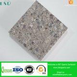 Pedra artificial cinzenta de quartzo para fornecedores da bancada da cozinha