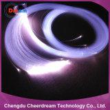 0,75mm PMMA Plastic End Glow Fibra Óptica para Iluminação
