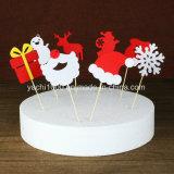 Decoración del copo de nieve de la Navidad de la felpa