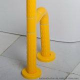 安全グラブは浴室の手すりによってハンディキャップを付けられる棒を柵で囲む
