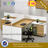 Mesa de escritório de melamina 4 pessoas Posto de trabalho de partição de escritório (HX-PT5005)