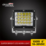 """luz resistente do diodo emissor de luz do poder superior 6 """" 100W para Offroad"""