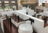 De lange Zwarte en verchroomt de Kraan van het Water van de Badkamers van de Luxe van Twee Tonen voor Hotel