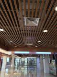 2018 Usine directement Fire-Proof revêtement du rouleau de céréales en bois plafond décoratifs en aluminium