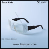 De hoge Bril van de Veiligheid van de Glazen van de Bescherming van de Laser van de Veiligheid voor de Lasers van 2780nm/2940nm ER met Regelbaar Frame 36