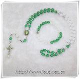 Rosario di plastica multicolore del branello, collana Chain del rosario dei branelli (IO-crs0000)