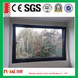Fenêtre en verre en aluminium de style européen