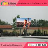 Digitas ao ar livre Comercial que anuncia o sinal do diodo emissor de luz de P6mm