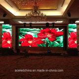 Schermo di visualizzazione dell'interno del LED di colore completo dell'affitto P3.91