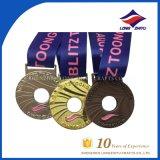 ブラジル人記念品10年の記念日のJiu-Jitsuメダル金の銀の銅メダルの