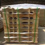 Arenaria di legno di colore giallo della vena del materiale da costruzione per fare fronte/pietra/parete/mattonelle del raggruppamento di asta della ringhiera/corrimano/pavimentazione
