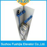 Ascenseur de fret avec 2 panneaux Type d'ouverture du centre
