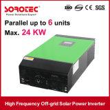 LCD 디스플레이를 가진 붙박이 MPPT Soalr 관제사 태양 에너지 변환장치
