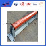 Transporte de granos cinta transportadora y Transportadores de rodillo superior Volver rodillo de goma Limpieza de los discos de rodillo del rodillo de impacto