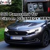 Smeg+ MrnシステムLvds RGBシグナル入力鋳造物スクリーンとのシトロエンDs3 Ds4 Ds5 Ds6のための背面図及び360パノラマインターフェイス