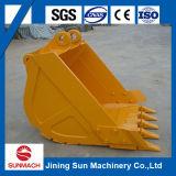 Cubeta padrão do carregador da roda de Cat938f 2.6cbm feita em China