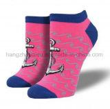 Form-Qualitäts-Kleid-Frauen-Tief-Schnitt-Socke