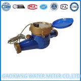 Mètre d'eau en laiton de sortie d'impulsion