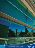2mm-21mm Color Reflective Building Float Glass avec bon prix