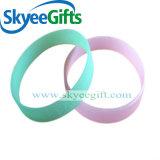 Wristband personalizzato del silicone per incandescenza di evento nello scuro